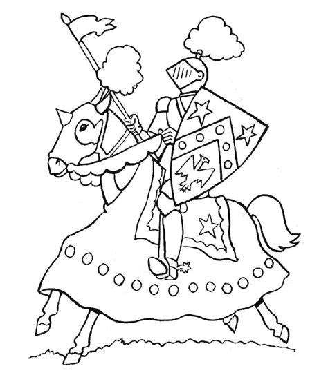 Coloring Pages Knights Knight Coloring Pages Coloringpagesabc Com