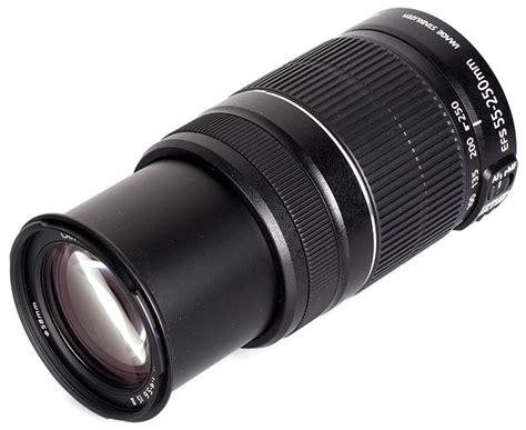 Lensa Tele Canon Murah jual promo new lensa tele canon ef s 55 250 mm 55 250mm is ii garansi resmi 1 tahun murah