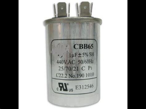 capacitor de aire general electric como conectar el capacitador compresor