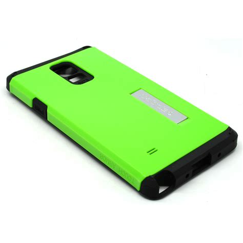 Sgp Tough Armor Plastic Tpu Combination With Kickstand For Ga sgp tough armor plastic tpu combination with kickstand for galaxy note 4 oem green