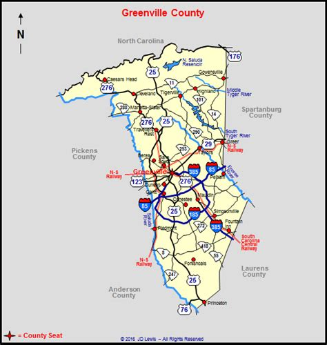 Greenville County Search Map Greenville Sc Images