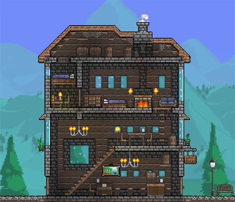 Fireplace Terraria by Take On A Cozy Inn Tavern Terraria