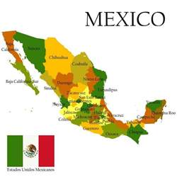 map of us and mexico location of playa playadelcarmen org