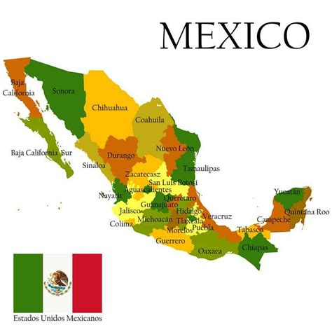 mexico states map location of playa playadelcarmen org