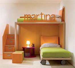 Ideas For Kids Bedroom Cool And Ergonomic Bedroom Ideas For Two Children By