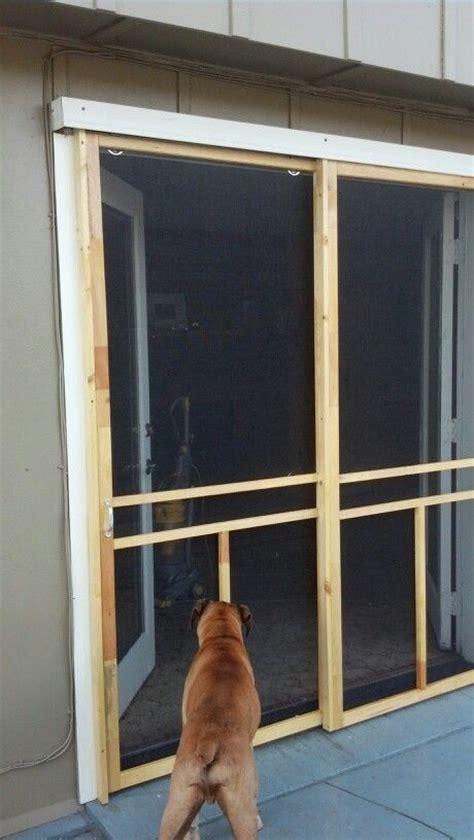 Diy Garage Screen Door by 17 Ideas About Fly Screen Doors On