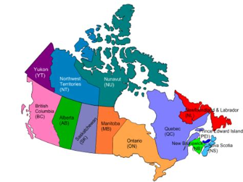 map of canada provinces and capitals canada map with states and capitals