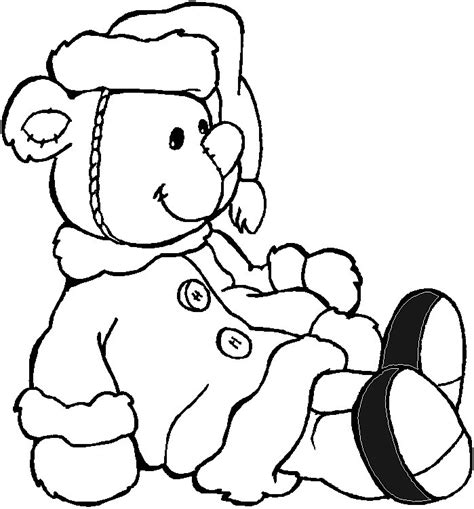 christmas coloring pages teddy bear teddy bear coloring pages to print az coloring pages