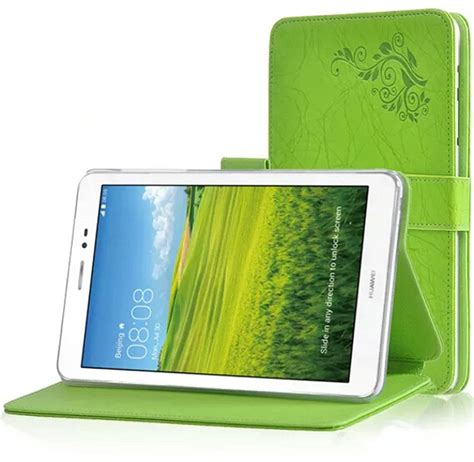 Printer Folio new arrival printing pattern folio stand cover protective print flower leather for huawei