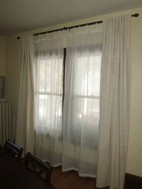double window treatments a very beautiful curtains for double windows curtains