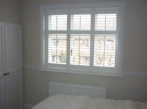 Plantation Shutters Plantation Shutters With Midrail