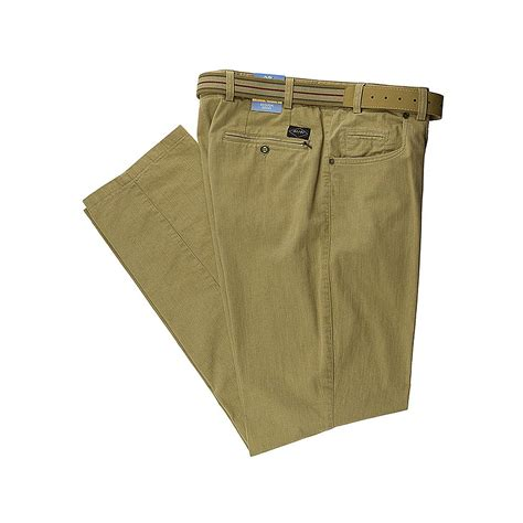 swing hose herren sportliche baumwollhose swing pocket farbe beige