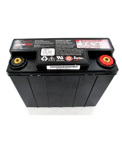genesis battery genesis 12v 16ah g16ep lead battery batteries4pro