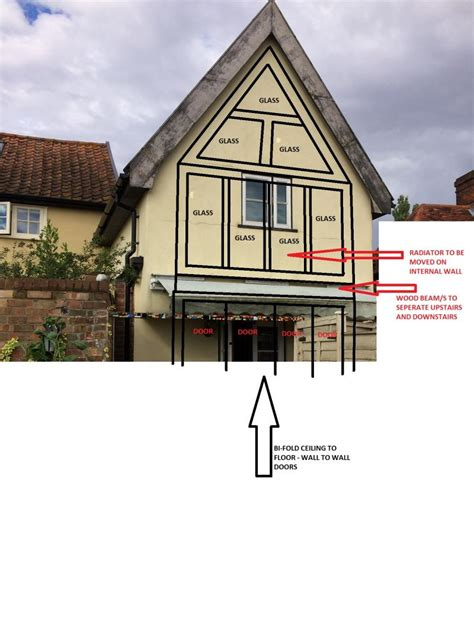 Cottage Designs by Gable End Glazing Can It Be Done Cost Diynot Forums