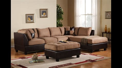 living room paint ideas with dark brown leather furniture livingroom design ideas youtube