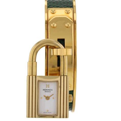 montre cadenas hermes prix hermes montre kelly cadenas en plaqu 233 or