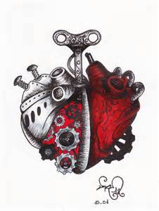 a clockwork heart by devil urumi on deviantart