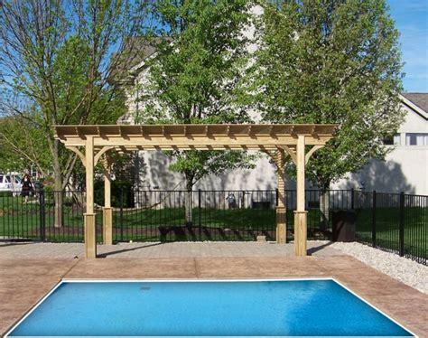 10 x 14 pergola 10 x 14 wood pergola amish swings things