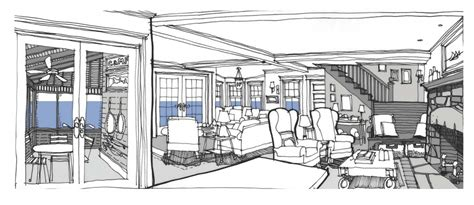 interior design sketch 187 renderings