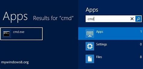 Cmd Search Find Mac Address In Windows 8 And Windows 8 1 Mywindows8 Org