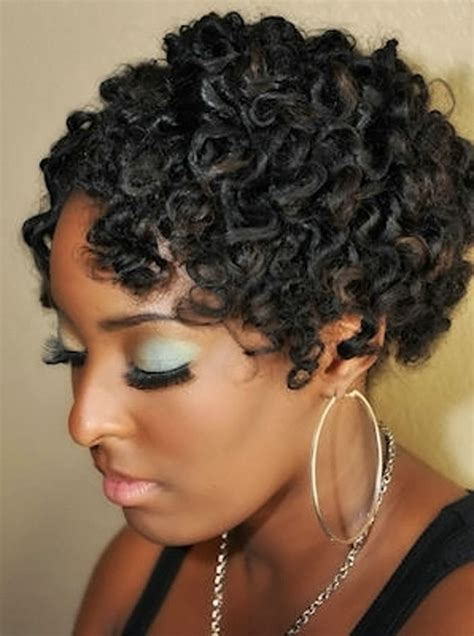 hairstyles for short hair knots natural curly hairstyles for african american womens