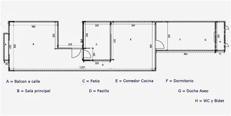 patio interior superficie construida born barcelona