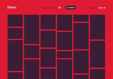 masonry layout using css brick js a blazing fast masonry layout generator web