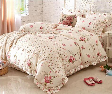 Korean Bedding Sets Home Textile Cotton Print Bedding Set Beautiful Korean Princess Bedding Sets King