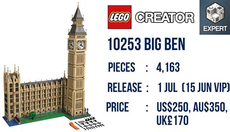 Diskon Lego 10253 Exclusive Big Ben Official Release Details And Photos Of Lego 10253 Big Ben