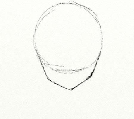 heaad shape boys basic head shape drawing manga style pinterest head