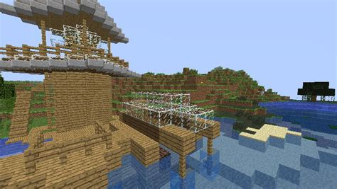 boat dock minecraft modern boat dock and lighthouse minecraft project