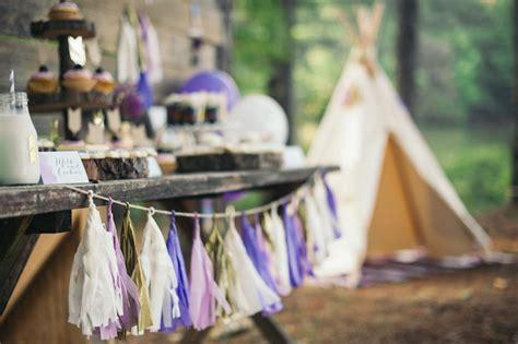 Kara's Party Ideas Bohemian Tribal Themed Birthday Party