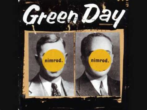 Green Day Nimrod Cd king for a day