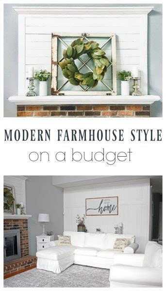 farmhouse decor on a budget from 1980s to beautiful farmhouse on a budget lovely etc