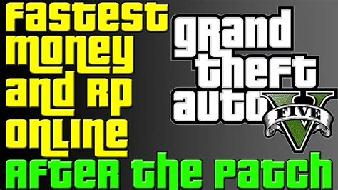 Quickest Way To Make Money In Gta 5 Online - gta 5 online after the patch easiest and fastest way to make money and level up