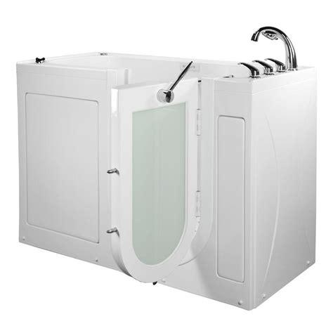 bathtub lounger ella 60 in lounger acrylic walk in whirlpool and air tub