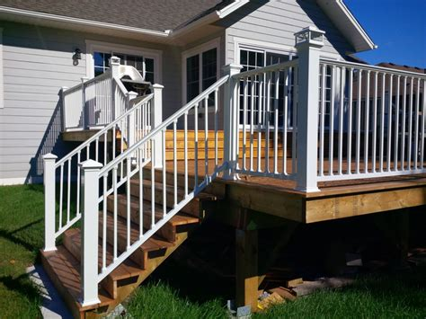 aluminum deck spindles ideas doherty house