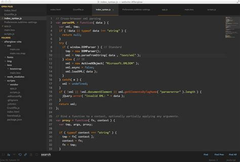 sublime text 3 orange theme que themes usais para programar mediavida