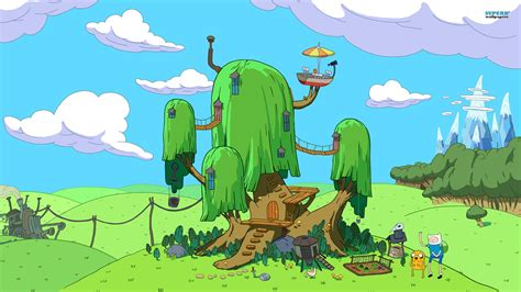 adventure house house of finn and jake adventure time wallpaper 1920x1080 70638