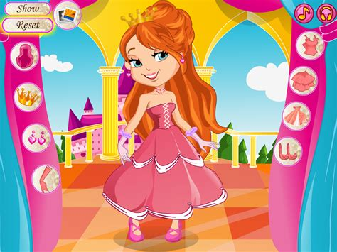 I M A Princess Dress Up Game Android Apps On Google Play Barbie Hair Salon Dress Up Games
