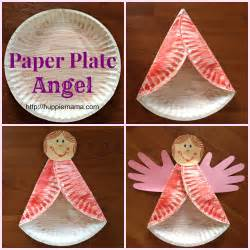 This craft includes both here are the steps to make a paper plate