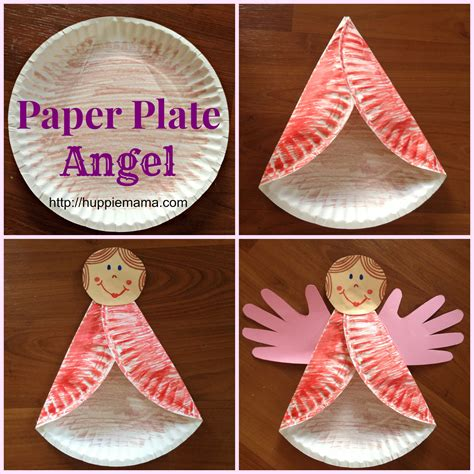 Crafts To Make With Paper Plates - craft paper plate our potluck family