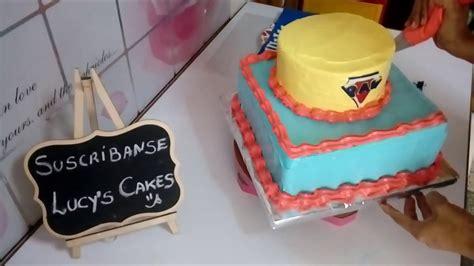 como decorar torta con merengue c 243 mo decorar torta de 2 pisos con merengue paw patrol