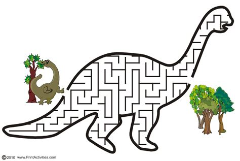 printable dinosaur maze so a maze ing grandma ideas