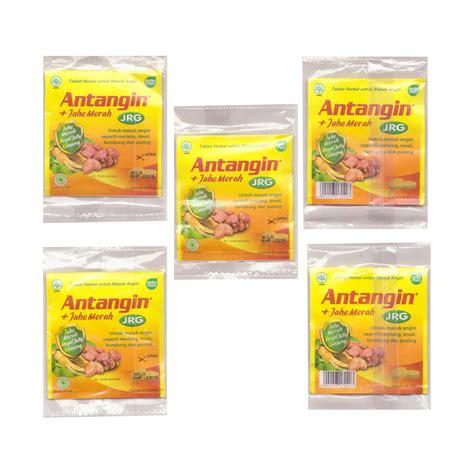Antangin Jrg Tablet 1 Box 20 antangin jrg herbal syrup 12 ct 180 ml 6 fl