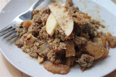 apple pear crumble buckwheat apple pear crumble cuisine soleil