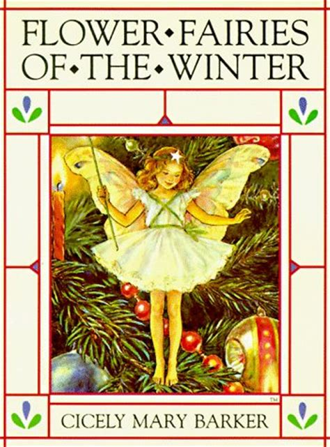 flower fairies of the books flower fairies of the winter by cicely barker