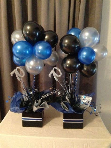 black and silver centerpiece ideas 25 best ideas about balloon centerpieces on