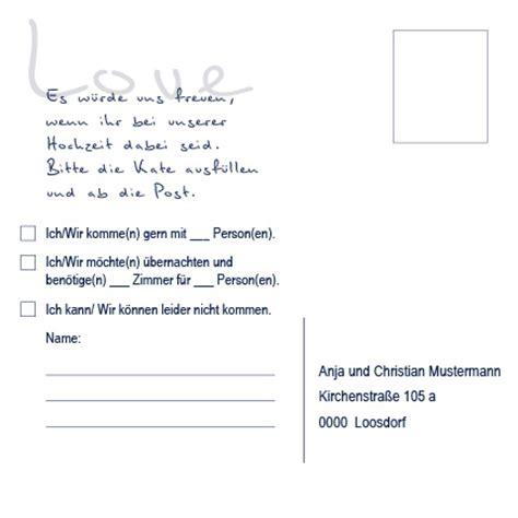 Hochzeitseinladung Antwortkarte by Antwortkarten Einzigartige Hortensie