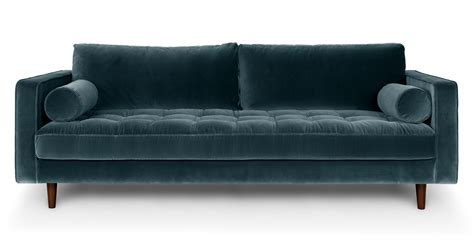 What Is A Settee Sofa Sven Pacific Blue Sofa Sofas Article Modern Mid